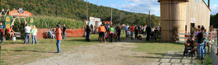 Large crowd enjoys the Pumpkin Farm