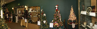 XMAS Display at Tioga County Museum