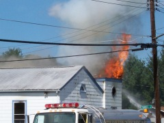 Smithville Church Burns