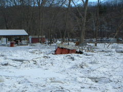 GOOD Pictures Of The ICE JAM