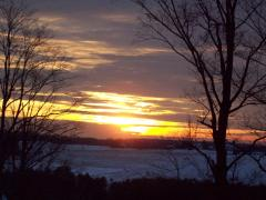 Sunset Over Bainbridge Dec 14