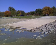 New Boat Launch Ramp at Dorchester Park