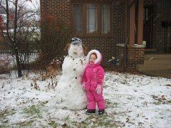 Alex and the Snowman