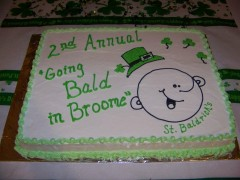St Baldrick's Event held in Endicott