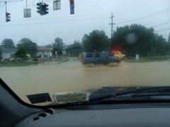 Flooding in Greene