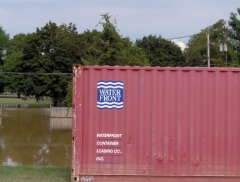 Storage container so aptly labeled!