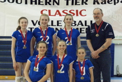 Spikers Win Gold At SouthernTier Classic