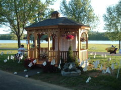 gazebo at dorchester lake