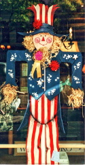 Uncle Sam Scarecrow!