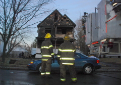 House Fire on Binghamton's South Side