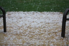 Hail storm makes its mark in Franklin