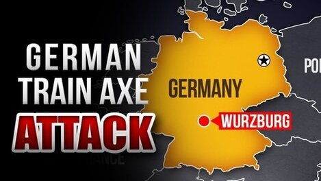 ISIS claims credit for axe attack on German train