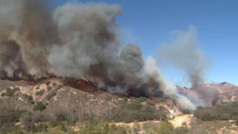 Blue Cut Wildfire Continues Raging in Southern California