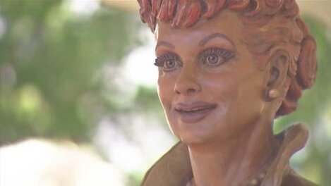 New statue of Lucille Ball to be unveiled to replace 'Scary Lucy'