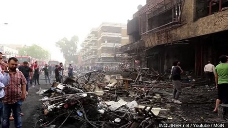 Death toll from Baghdad blast rises to 292: minister