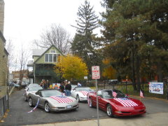 Busy Veteran's Day for CORVETTES i.n.c.