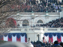 Photos and a video from the Inauguration
