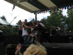 Local Youth Performs at Spiedie Fest