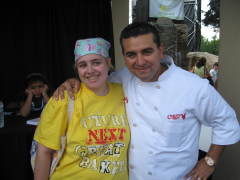 Buddy Valastro at the NYS Fair.