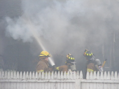 Town of Maine House Destroyed in Fire