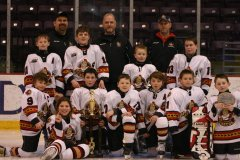 Jr BSens Squirt B team Wins Elmira Jam