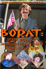 Local teenagers parody Borat movie