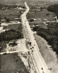 Vestal Parkway in the early '50's