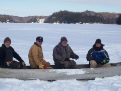 Red Lake Ice Fishing Trip 2008