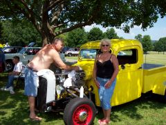 Hickories Park in Owero NY USA car event