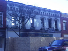 Sorges Restaurant burns