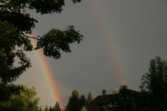 Double rainbow in Sidney