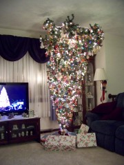 Up-sidedown Christmas Tree