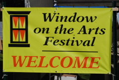 Window on the Arts Festival goes ON!