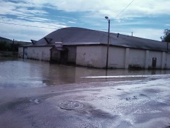 old Endwell Rollerdome - Flood 9/9/2011