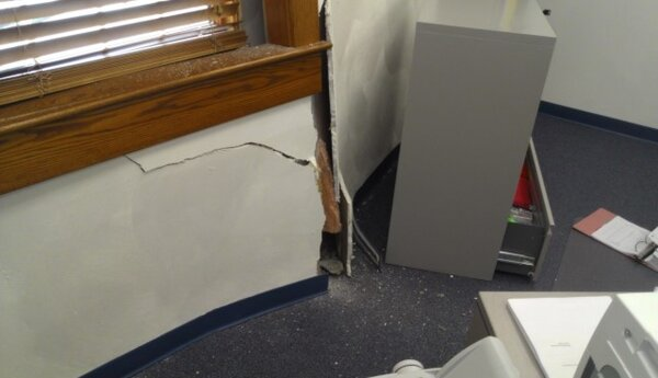 Dickinson Town Hall Damaged | WBNG-TV: News, Sports and Weatherdickinson town
