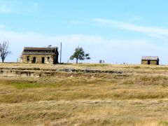 sod house of  the old west