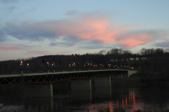 Beautiful Sunset in Owego this evening