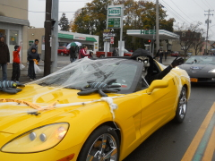 Corvettes Spook them at Halloween