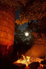 Campfire By The Light of The Moon