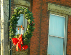 Whitney Point Street Wreaths