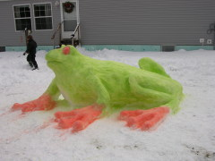 Invasion of the Giant Snow Frog