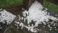 Hail in Windsor, NY