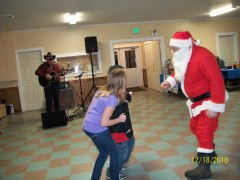 Santa visits Yesterday's Country!