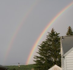 Rainbows on June 30th