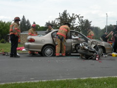 Norwich High School Mock Crash
