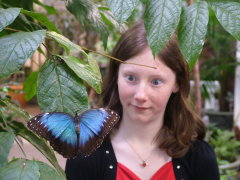 Butterfly Conservatory trip!!