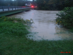 Flooding in Owego