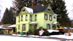 Decorated House on Genesee Street
