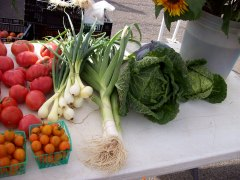 GOT LEEKS? VESTAL FARMER'S MARKET DOES