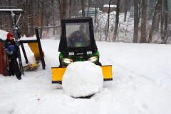 NOT EVEN A 4WHEEL DRIVE COULD MOVE THIS SNOWBALL!